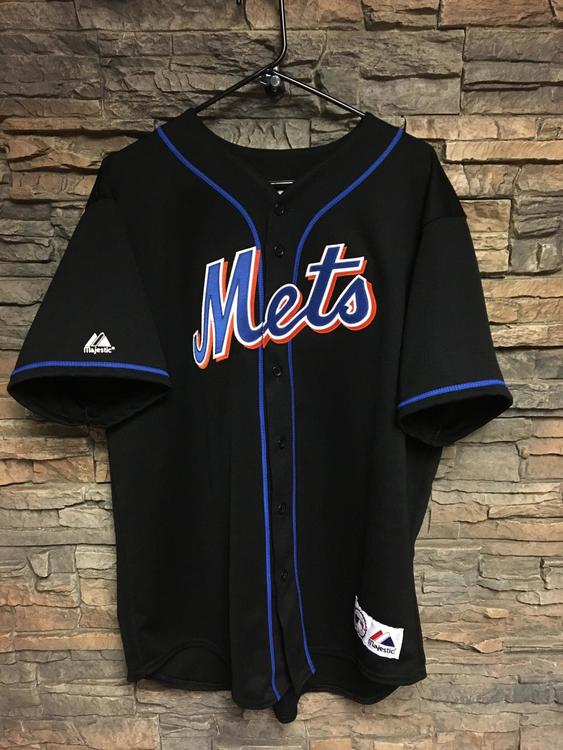 best sneakers 0bfe9 f1fd7 Johan Santana Mets XL Stitched Authentic Jersey