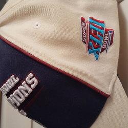 d47e844b7e8 NEW YORK GIANTS SUPER BOWL XLII CHAMPIONSHIP HAT
