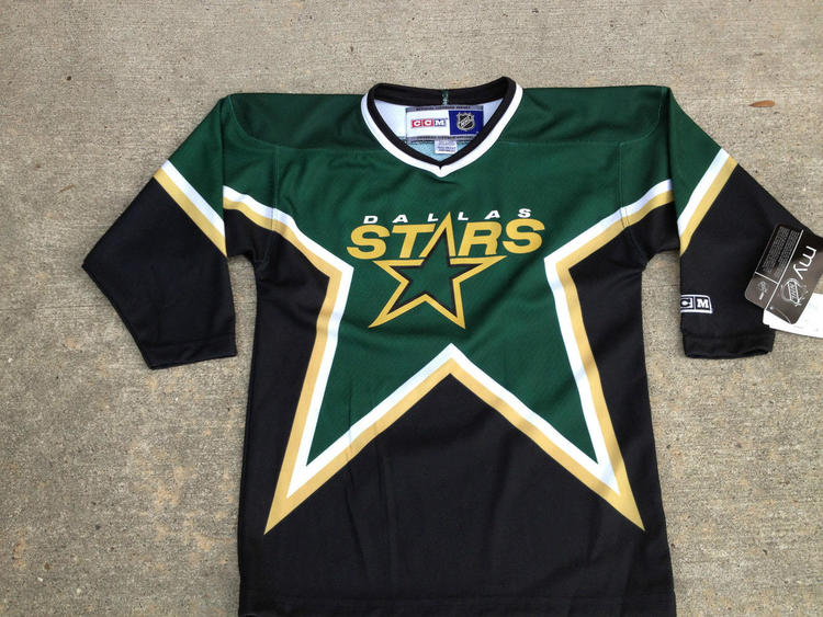 super popular b07d1 02fb2 NHL Dallas Stars Replica CCM Youth Child 4-7 Yrs Hockey Jersey