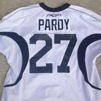 1dd0ae167 Reebok Edge White NHL Dallas Stars Practice Jersey SR Size 58  27 Pardy