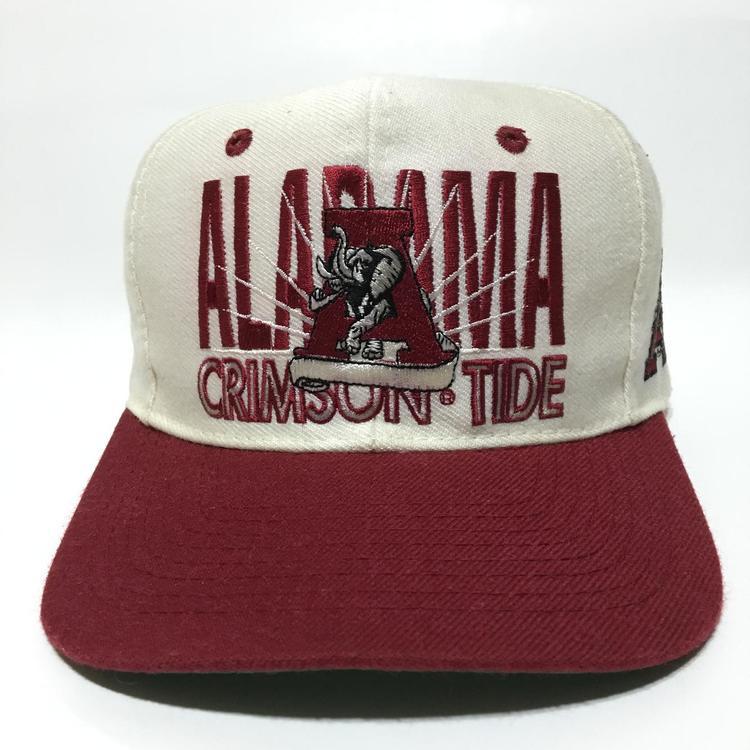 eddecccb7ca053 Vintage Alabama Crimson Tide Snapback Hat   SOLD   Apparel Hats ...