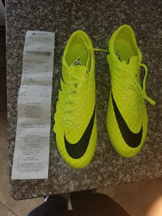 taille 40 f6633 11c79 Nike hypervenom phinish 2 size 12.5 SG