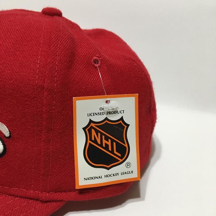49774d172ec Vintage Detroit Red Wings Snapback Hat Deadstock New by Starter ...