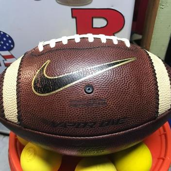 the latest c0ed0 b3eee Nike Vapor Official Rutgers Leather Football   SOLD   Lacrosse Balls ...