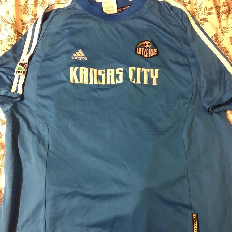 super popular 9fd55 dbcc0 Vintage Kansas City Wizards Jersey