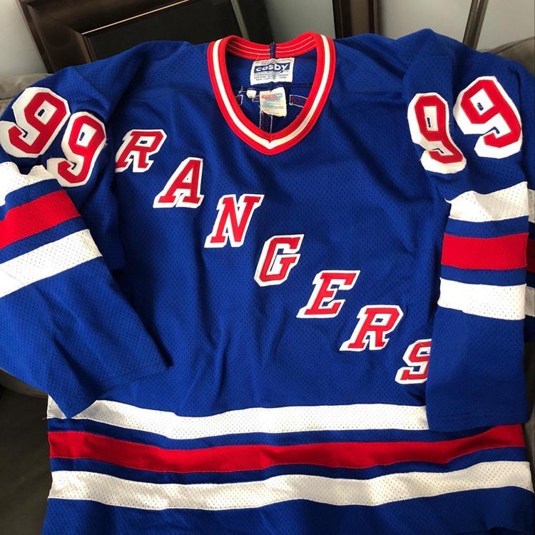 online retailer 9458a 75b30 New York Rangers Authentic Wayne Gretzky Jersey