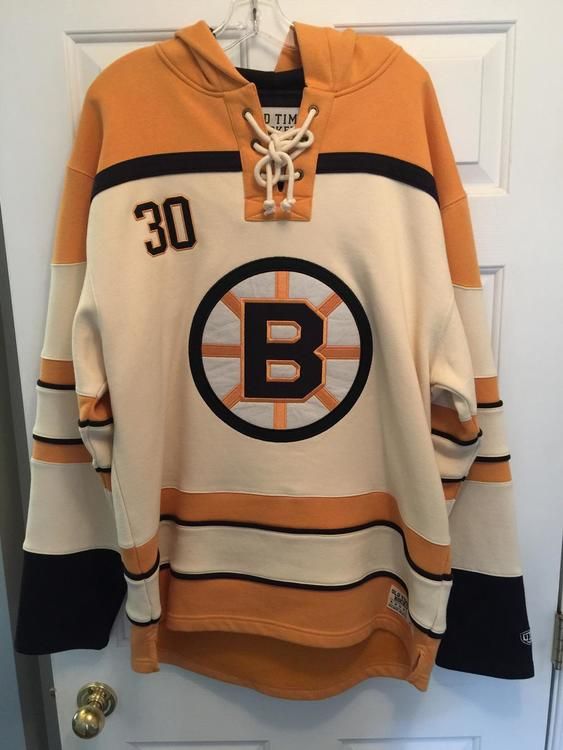 Old Time Hockey Boston Bruins Vintage Cheervers Lacer Hoodie - SOLD 66eba6a7a53