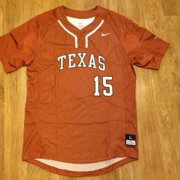 detailed look 8395c 76d46 texas longhorns baseball jersey
