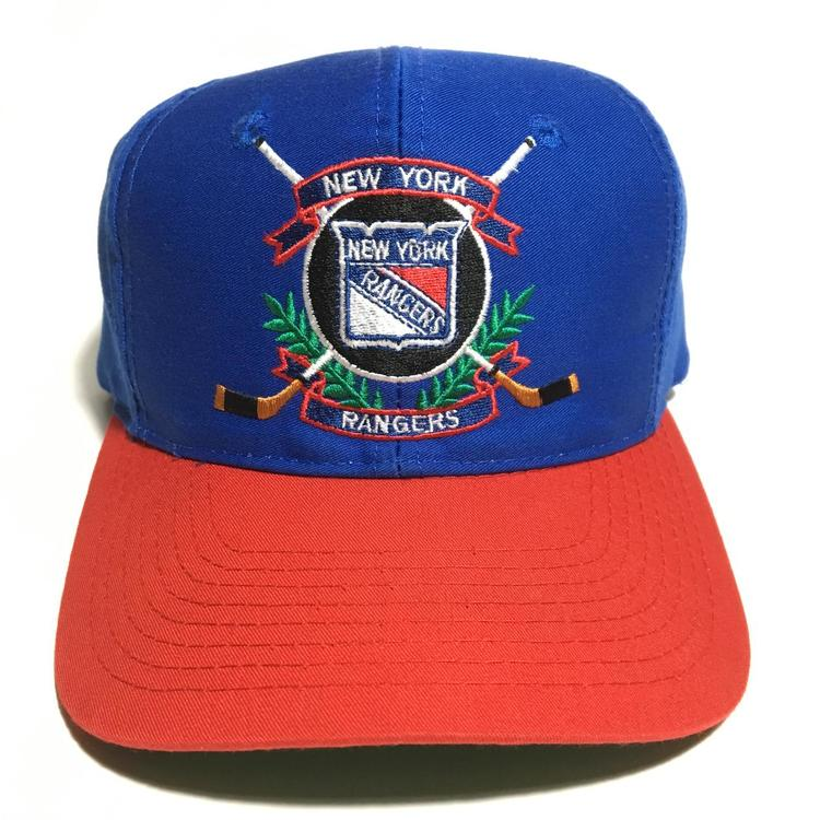 334d546c0c84e ... coupon for vintage new york rangers snapback hat sold 061f0 8cd0a