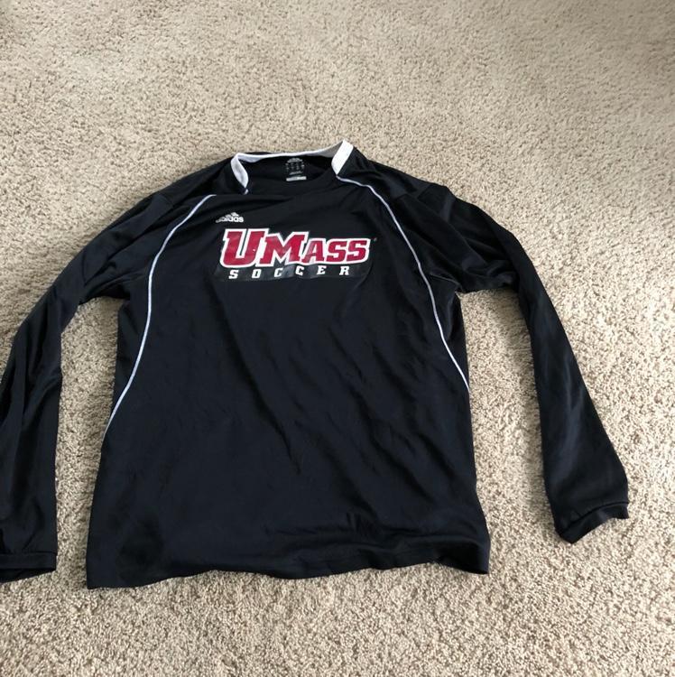 Umass soccer warm-up shirt - SOLD 521b8c0e97c5