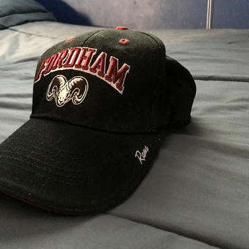 3443ad9f85d Fordham Rams Adjustable Black Hat - (price lowered) - SOLD