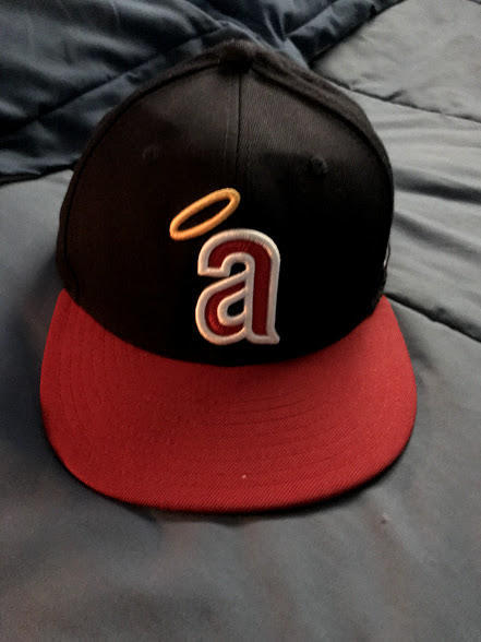b811253df45c2 Throwback California Angels New Era 59FIFTY Cooperstown Collection Classic Fitted  Hat size 7-5/