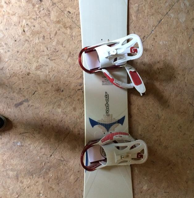Rad Air Board With Boots And Bindings