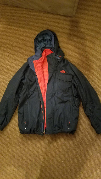 96c0de8c9 The North Face Gregorio ThermoBall Triclimate 3-in-1 Jacket in Diesel Blue
