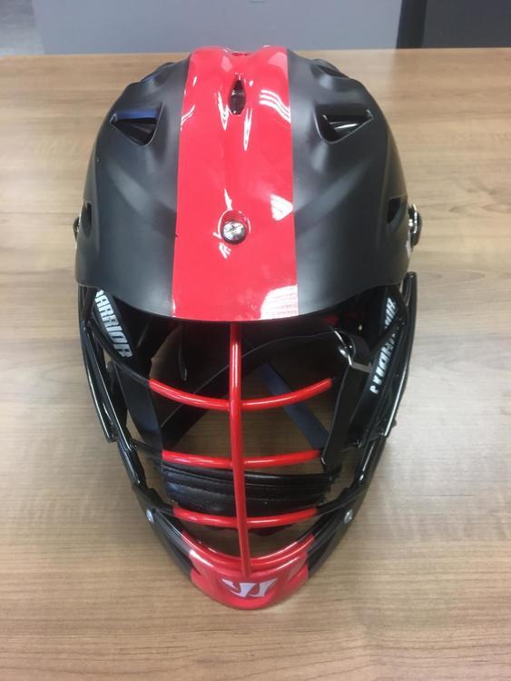 Warrior Team Canada Evo Pro Helmet Sold Lacrosse