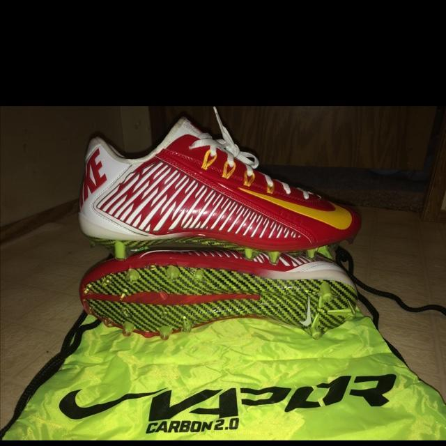 nike free 5.0 red all red nike football cleats
