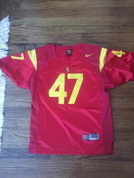 lowest price c46af 7c13e Clay Matthews USC jersey. Youth Large