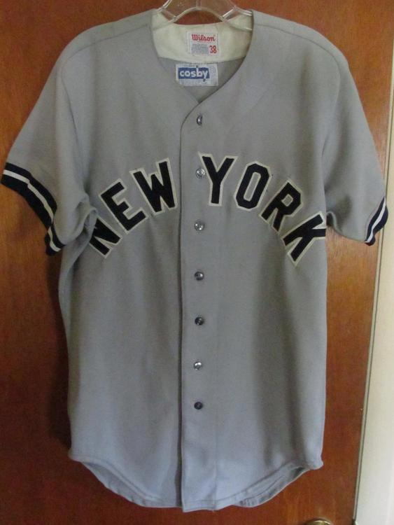 official photos 6fe26 303ca New York Yankees authentic away jersey - early 1980s Used