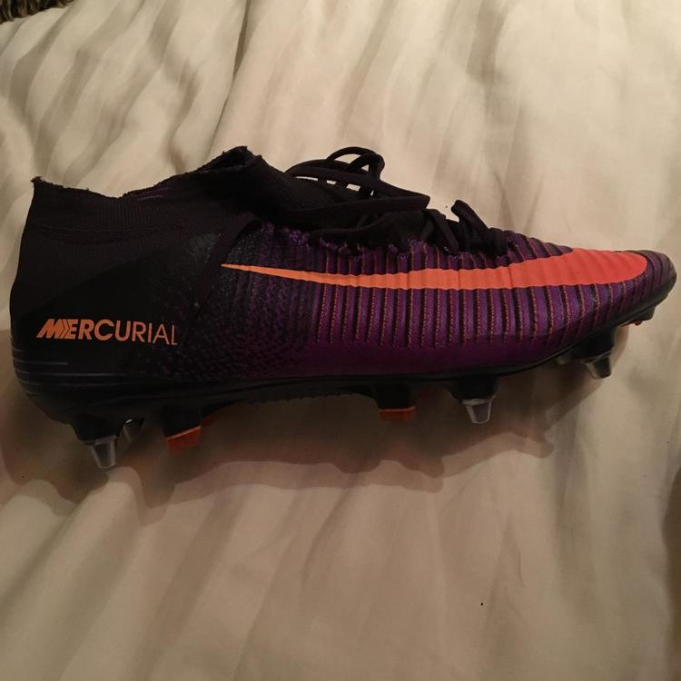factory authentic 8d5a8 15723 Nike Mercurial SuperFly V purple SG (trimmed collar)