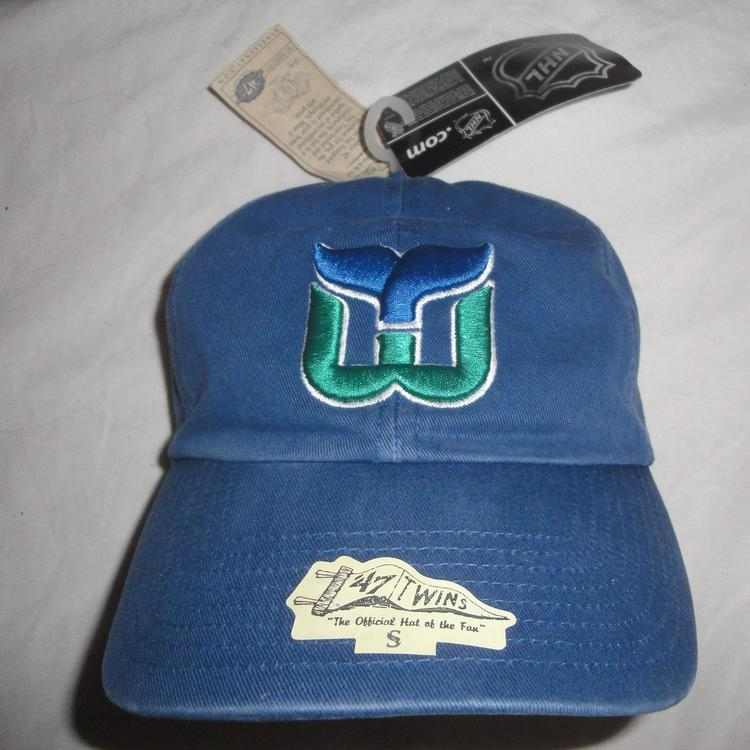 29407f5bf HARTFORD WHALERS  47 TWINS FRANCHISE HAT ROYAL BLUE NEW WITH TAGS DY369681  - SOLD
