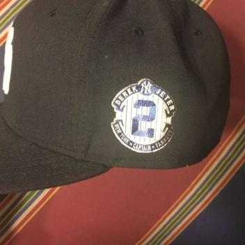 RARE New York Yankees Derek Jeter Retirement hat 7 3 8 size - SOLD 559ec628276c
