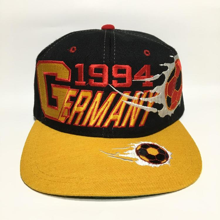 46cd752d67e Vintage 1994 Germany World Cup Snapback Hat. Related Items