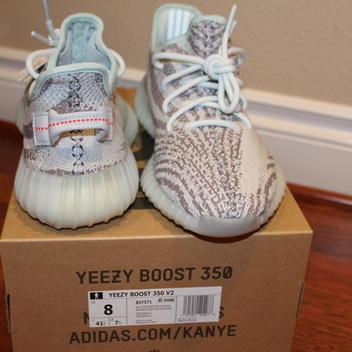 49c9b76bd9f90c Adidas BN Blue Tint Yeezy Boost 350 V2 Size 8 (100% Legit)