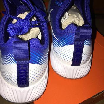 d11261a5ae3 Nike Vapor Speed Turf Lax Lacrosse Shoes 9.5  110 RUSH BLUE