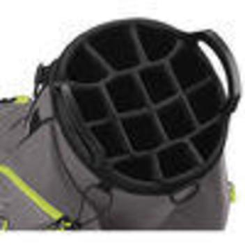 New Taylormade 14 Pocket Cart Lite Bag Black Green Expired
