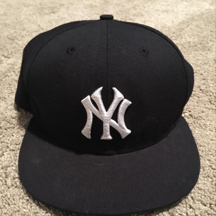 428bbfaac5f ... coupon atmos nyc yankees derek jeter fitted hat 01 new york yankees hat  sz. 7