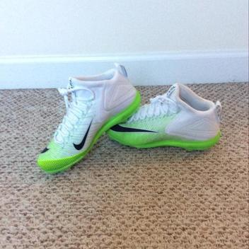 New Nike Mike Trout 3 White Lime Green Metal Baseball Cleats Size 10.5 -  SOLD. Have one to sell? Comments (0) Favorites (9)