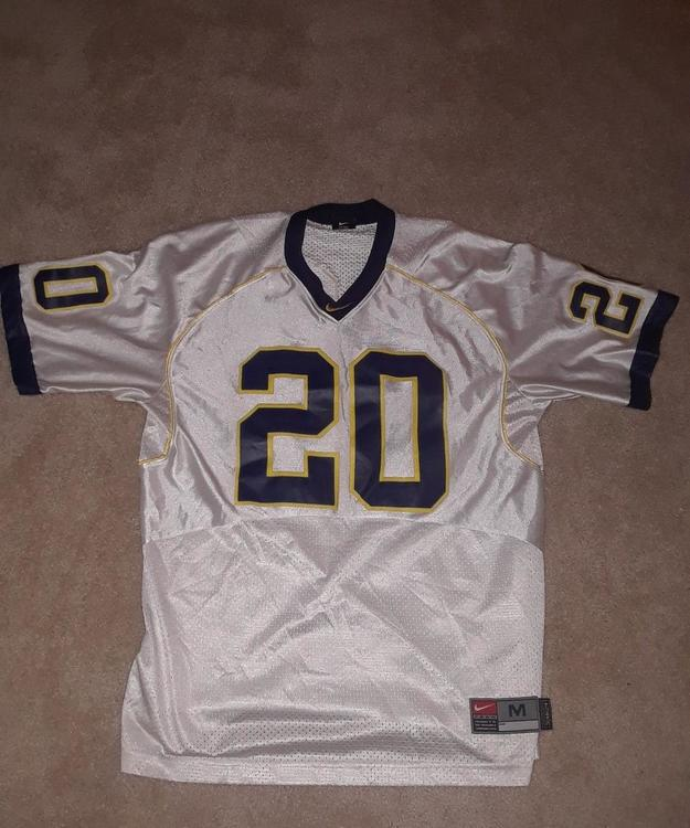 new style 07c47 f6304 Authentic Michigan Wolverines Football Jersey #20