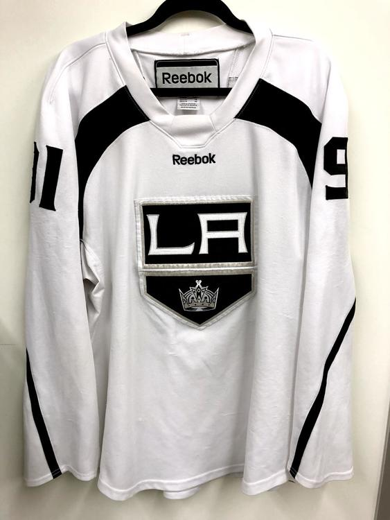 0b23a8be7 Reebok Edge 20P00 XL Los Angeles Kings custom practice jersey - White - SOLD