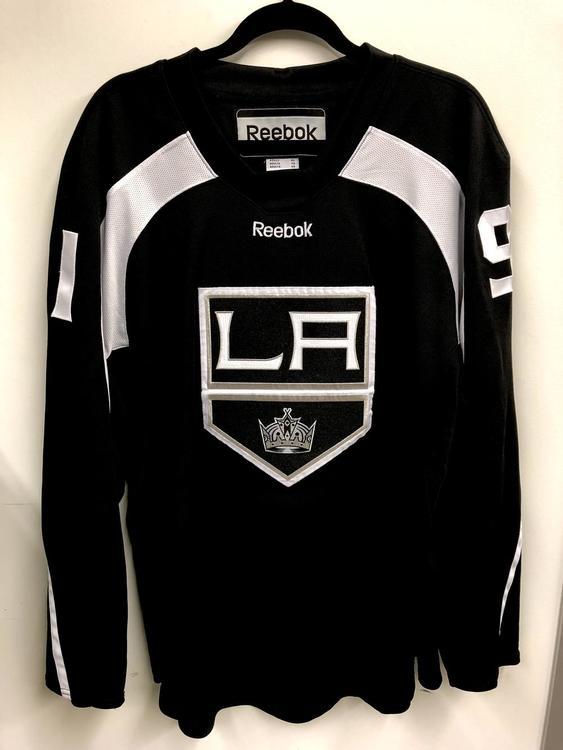 4bdbb4f3f Reebok Edge 20P00 XL Los Angeles Kings custom practice jersey - Black - SOLD