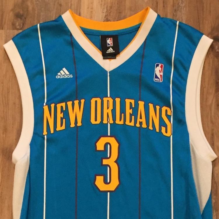best service 884ec 324e7 Chris Paul New Orleans Hornets throwback jersey