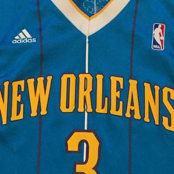 Adidas Chris Paul New Orleans Hornets throwback jersey  fd23cc485
