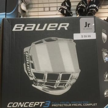 2bd14bacd8a Bauer Concept 3 Face Shield Junior