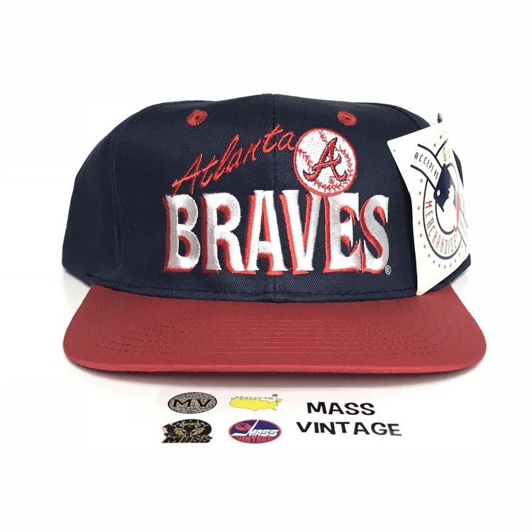 VTG Atlanta Braves Snapback - EXPIRED 44494d8d843