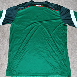 6e98d8ac7 MEXICO MEN S SOCCER JERSEY FIFA WORLD CUP LARGE NEW!   READ AD! PATCH.  Related Items