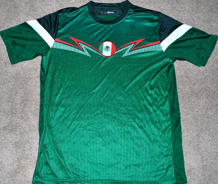 separation shoes 700ad 189a7 MEXICO MEN'S SOCCER JERSEY FIFA WORLD CUP XL EXTRA LARGE NEW! **READ AD!  PATCH