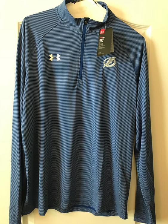 new product 1ae83 c5d27 Tampa Bay Lightning, New Under Armour Long Sleeve Heat Gear