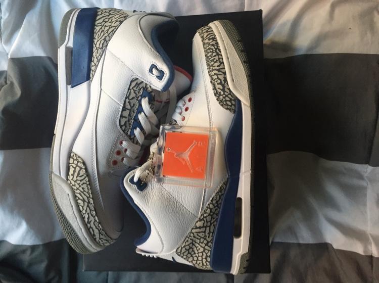 ed5ce96f3098 Air Jordan True Blue 3s