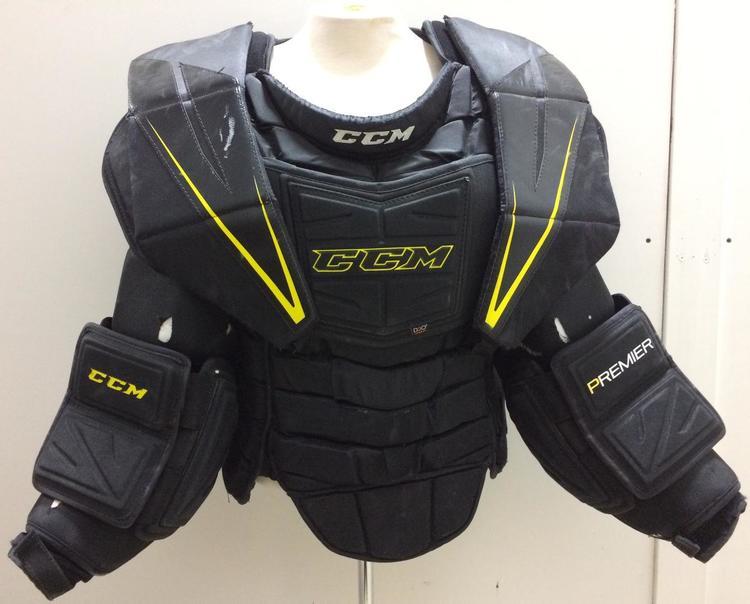 ed0e9eb7941 CCM Premier Pro Stock Goalie Chest Protector Sr Extra Large XL 1515 ...