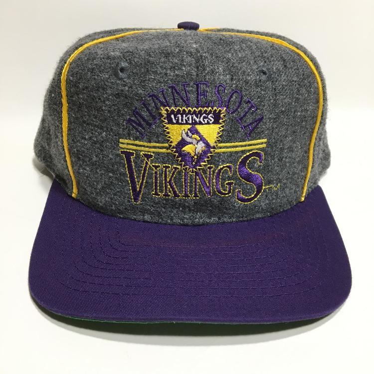 Vintage Minnesota Vikings Snapback Hat - 15% OFF d49cc2c2b52