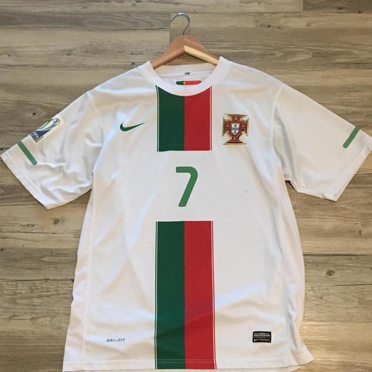 promo code a71d3 bb16c Nike Dri-Fit Portugal Cristiano Ronaldo Jersey