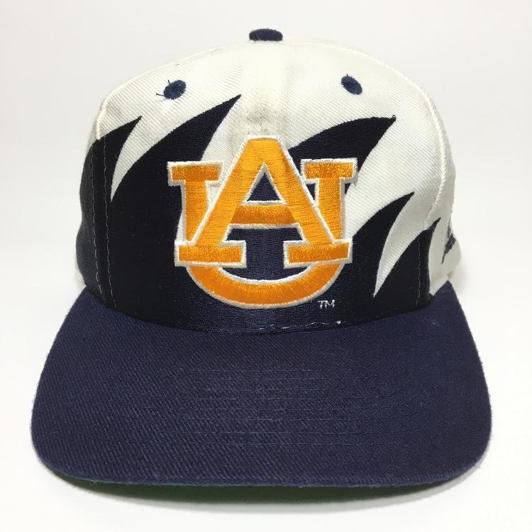 d2154a2f1b9c7 ... promo code vintage auburn tigers snapback hat logo atheltic sharktooth  1015b 9f879