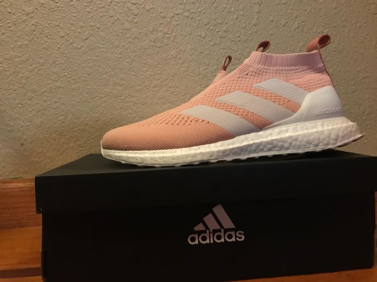 outlet store 88c31 d3518 Adidas X Kith Flamingo Boost Purecontrol