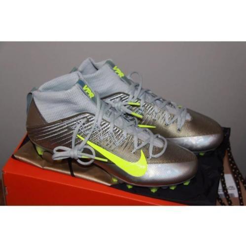 New Nike Vapor Untouchable 2 Cleats Sz 13 retail $200 shoes lacrosse  football w/ carry bag - SOLD