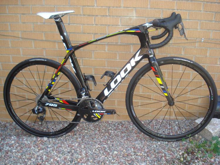 c80c47d5e0c LOOK 795 LIGHT PRO TEAM CARBON ROAD BIKE SRAM eTAP ELECTRONIC SHIFTING 55cm  L LG   Bikes Complete Bikes   SidelineSwap