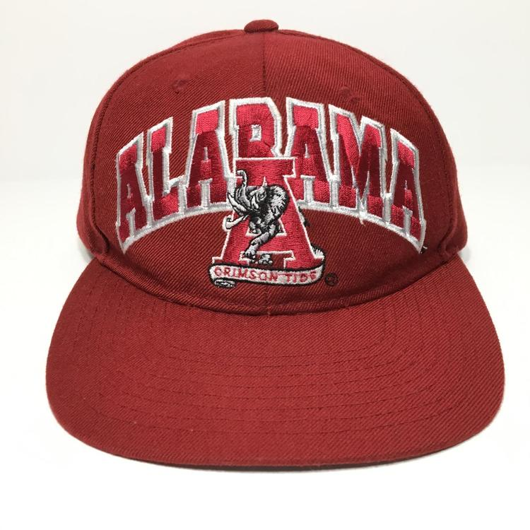 super popular b3052 752e2 Vintage Alabama Crimson Tide Starter Snapback Hat